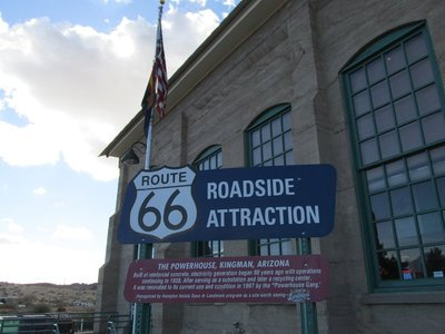 Powerhouse, Kingman, Route 66