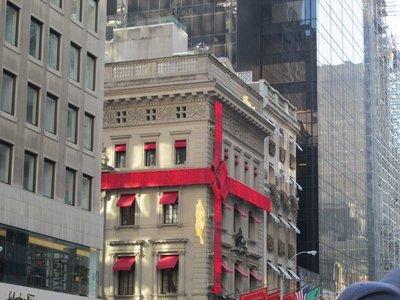 Weihnachtdekoration 5th Avenue, NYC