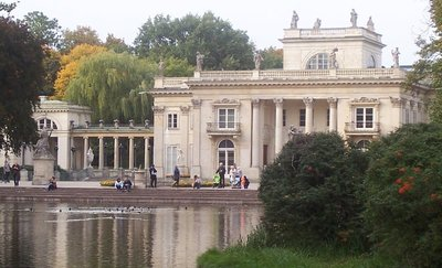 Royal Park in Warsaw Poland