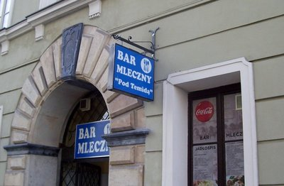 Milk Bar in Krakow Poland