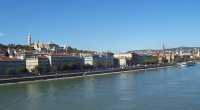 The Buda side of Budapest