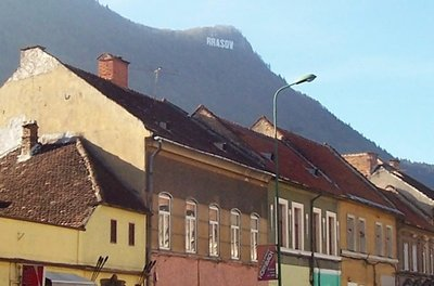 Brasov like Hollywood has a sign