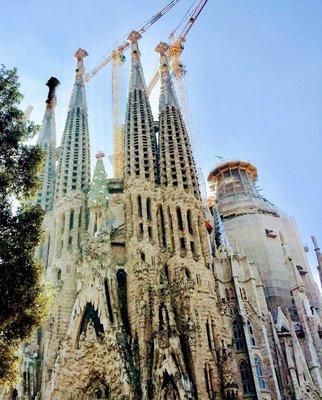 The Sagrada Familia Barcelona