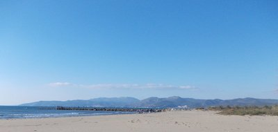 Aegean Sea Pamucak Beach Turkey