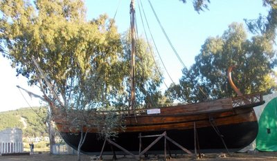 This is in Turkey but looks like a Viking Boat to me