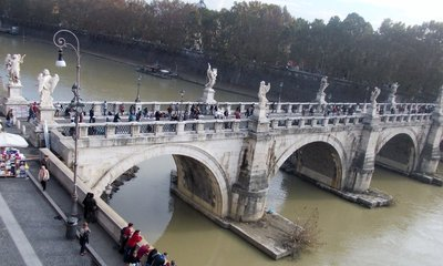 Angel's Bridge Rome