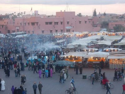 The hodge podge of Marrakesh Square