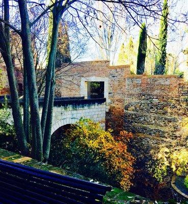 Near Entrance to Alahambra Granada Spain