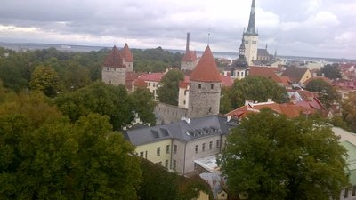 Fairytale Old Town, Tallinn Estonia