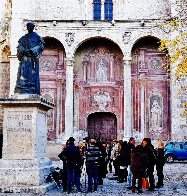 Granada Spain St Domingo Church