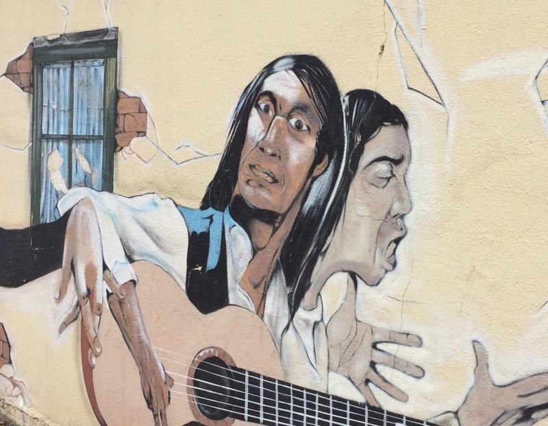 Graffiti in Malaga Spain