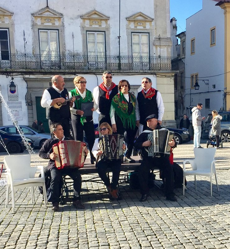 Folk Choir Evora Portugal