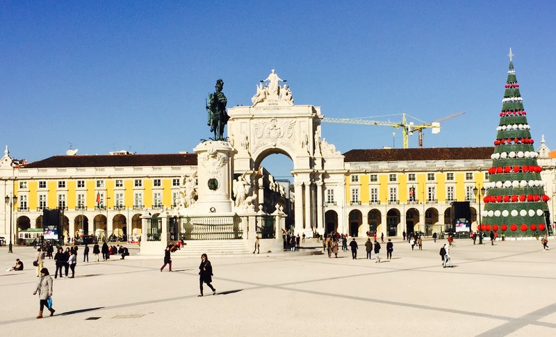 Commercio Square Lisbon