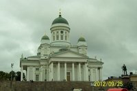 Lutheran church in Helsinki Finland