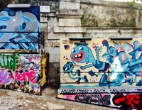 Graffiti in Lisbon Portugal
