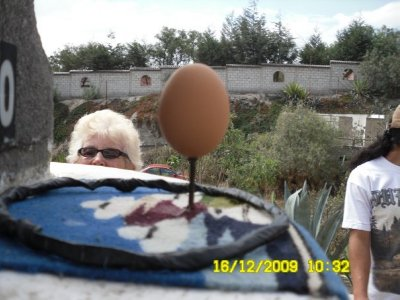 Ta dah!!! Really you can balance an egg on a nail at the equator!