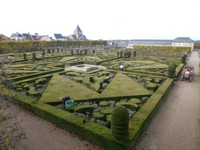 Loire Valley: Villandry Chateau Villandry