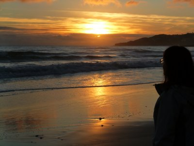 Algarve: Beach at Luz