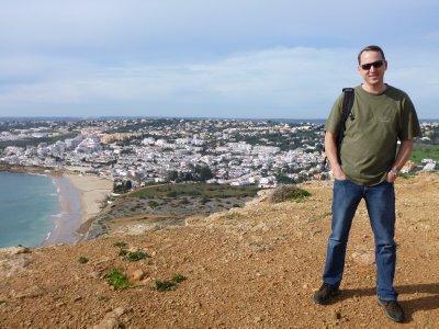 Algarve: overlooking Luz