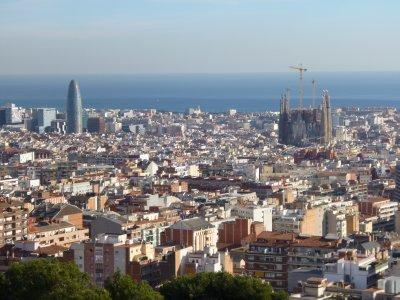 Barcelona: Parc Guell-View From