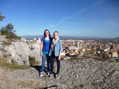 Cavaillon: Top of Bluff Overlooking Town