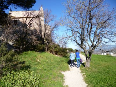 Cavaillon:7th Century Chapel At top of Bluff