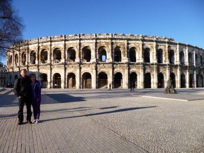 Provence Roman Sights: Coliseum in Nimes
