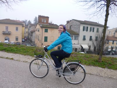 Lucca: Biking the walls