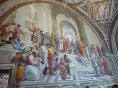 Vatican Museum: Raphael Room--School of Athens
