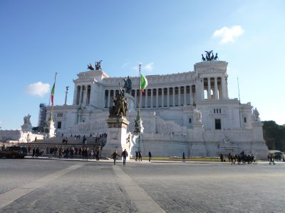 Rome: Victor Emmanuel Monument