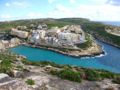 Xlendi: Our homebase on Gozzo in Malta
