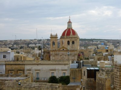 Victoria, Gozo: Typical Maltese Church