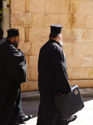 Nafplio: Greek Orthodox Priest