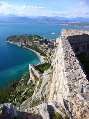 Nafplio: Palamidi Fortress View