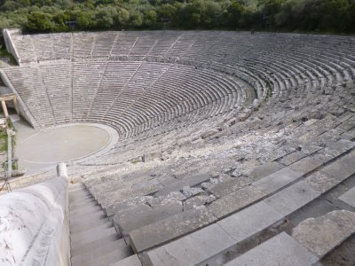 Ancient Epidavros: Theatre