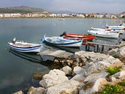 Nafplio breakwater