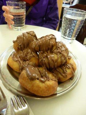 Loukoumades (Greek donuts)