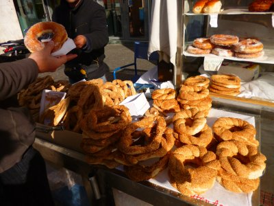 Athens breakfast vendor