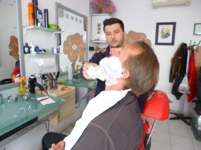 Turkish Straight Razor Shave