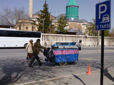 Konya Street Scene