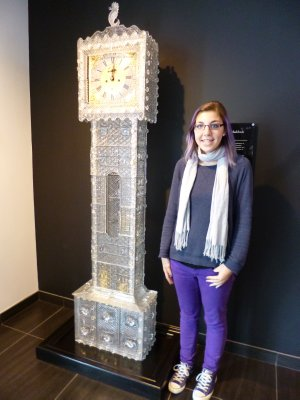 Crystal Grandfather Clock