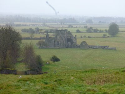 Rock of Cashel countryside ruin