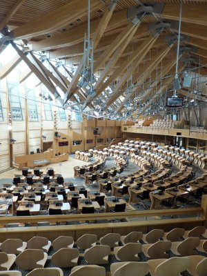 Scottish Parliament Debate Chamber