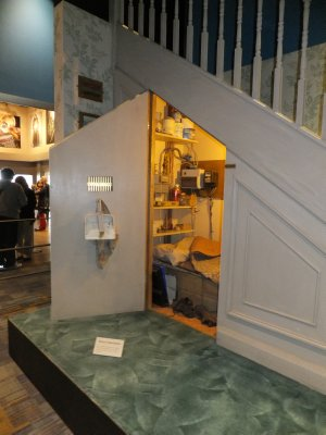 Harry Potter's Room Under the Stairs at Privet Drive