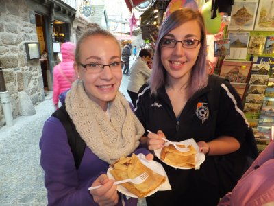 Mont Saint Michel crepes