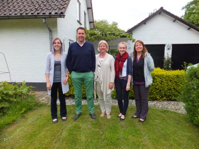 Visiting Ben's Cousin Marlene and her husband Arjan