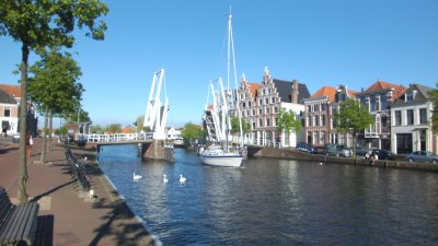 Haarlem Canal Scene