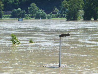 Flooding in Boppard
