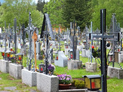 Cemetery in Geistal