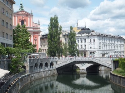 Ljubljana: Triple Bridge